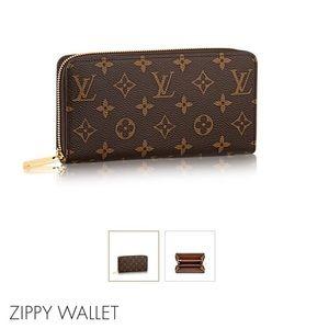 Louis Vuitton Zippy Wallet in pristine condition.